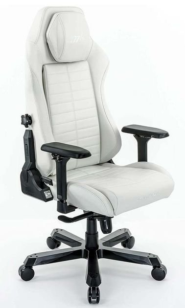 DXRacer MASTER Gaming Chair, White Color