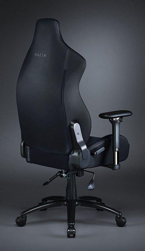 كرسي ألعاب ريزر Iskur، جلد صناعي، أسود