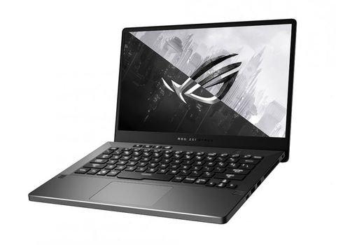 لابتوب ألعاب أسوس Zephyrus G14، معالج رايزن 7، رام 8GB، تخزين 512GB، انفيديا GTX1650، رمادي