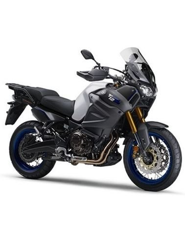 دراجة نارية يامها سوبر تينير XT1200ZE، اسطوانتين، 6 سرعات، أسود فضي