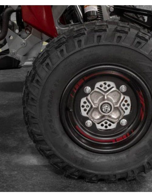 دباب يامها 2020 YFZ450R SE جديد، خمسة صمامات 450 سي سي، أحمر ورمادي