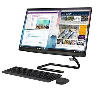 كمبيوتر مكتبي لينوفو آيديا سينتر 3، شاشة لمس 23.8 بوصة، كور آي 7، رام 8GB، تخزين 512GB، أسود