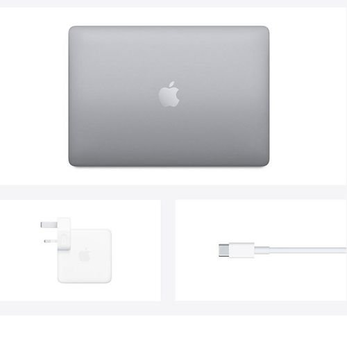 آبل ماك بوك برو 2020، 13.3 بوصة، معالج M1، رام 8GB، تخزين 256GB، رمادي فلكي