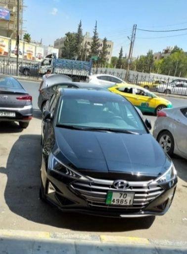 سيارة هونداي النترا 2020 للإجار اليومي، أوتوماتيك، لون أسود
