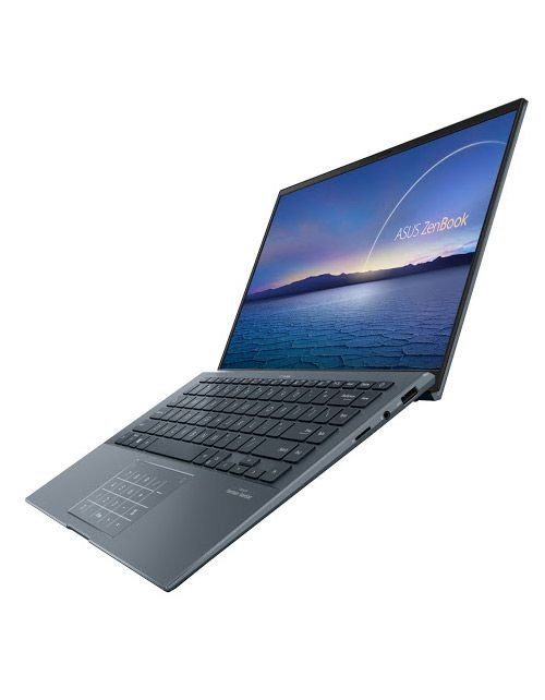 نوت بوك اسوس زين بوك UX425، شاشة 14 بوصة، كور اي 7، رام 16GB، تخزين 1TB، رمادي صنوبري