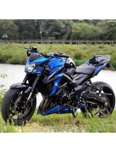 دراجة نارية سوزوكي GSX-S750 ABS مستعملة للبيع، موديل 2019،  4 اسطوانات، أزرق أسود