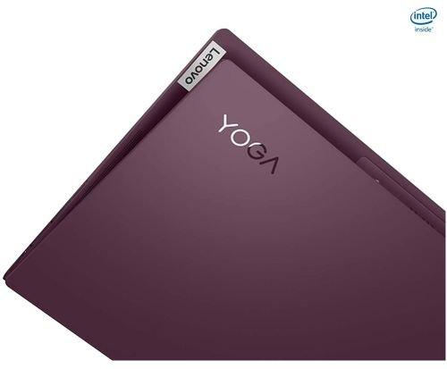 نوت بوك لينوفو يوجا سليم 7، 14 بوصة، كور آي 5، رام 8GBـ تخزين 256GB، أرجواني