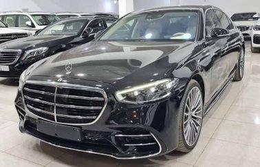 سيارة مرسيدس بنز اس 500 سيدان 2021 جديدة للبيع، دفع رباعي، لون أسود