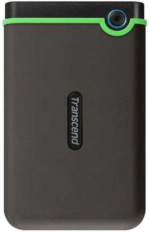 هارد خارجي ترانسيند StoreJet، سعة 1 تيرابايت، HDD، يو اس بي 3، رمادي