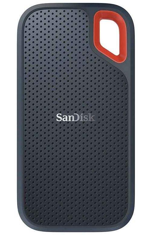 هارد خارجي سان ديسك اكتسريم، SSD، يو إس بي سي، 2 تيرابايت، فضي