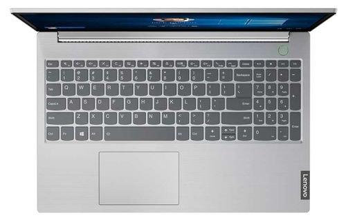 لابتوب لينوفو ثينك بوك 15، كور آي 5 الجيل 11، رام 4GB، تخزين 256GB SSD، رمادي