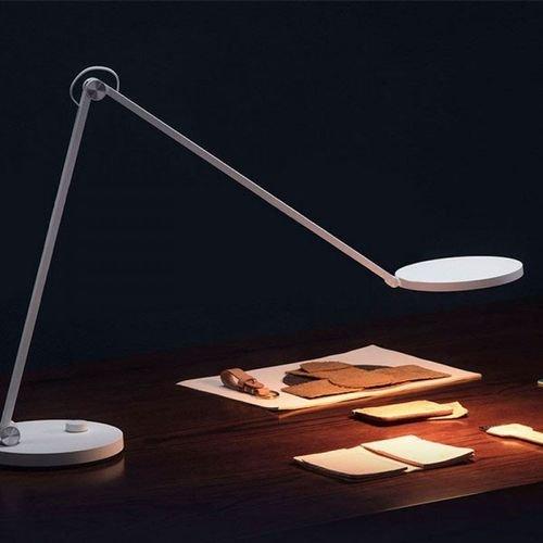 مصباح مكتب شاومي Desk Lamp Pro، وايفاي، 12 واط، أبيض