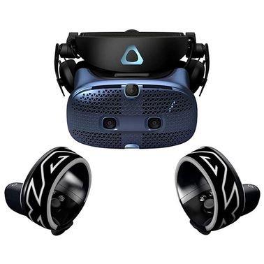 نظارة واقع افتراضي HTC Vive Cosmos، يو اس بي سي، 110 درجة، أسود وأزرق
