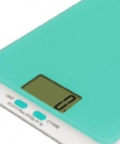 ميزان مطبخ رقمي من ونسا، 5 كغ، لون أزرق