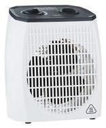 مدفئة كهربائية بمروحة من بلاك أند ديكر، 2000 واط، أبيض
