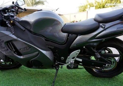دراجة نارية سوزوكي هايبوزا 2020 مستعملة، 1340 سي سي، لون رمادي