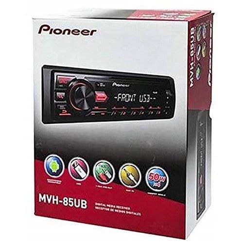 مسجلة سيارة بيونير USB AUX MVH-85UB، مع مشغل CD تحكم عن بعد