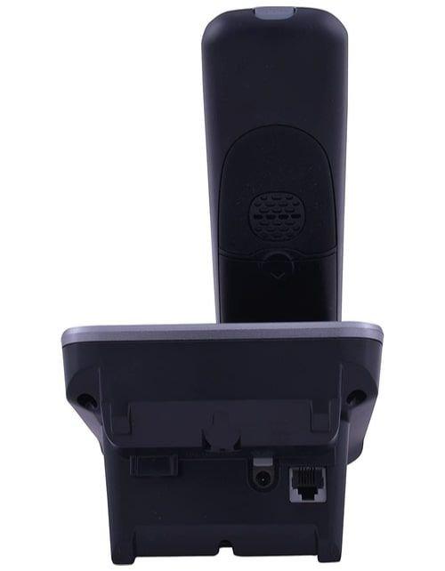 هاتف أرضي لاسلكي باناسونيك KX-TG6711، شاشة ال سي دي 1.8 بوصة، أسود