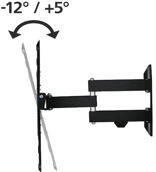 حامل جداري للتلفزيون هاما، 32 - 65  بوصة، قابل للتعديل، أسود