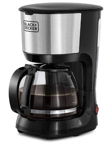 ماكينة صنع القهوة من بلاك أند ديكر،1.25 لتر، 750 واط، أسود