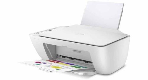 HP DeskJet 2710 All in One Printer, Print, Copy, Scan, Wi-Fi, White