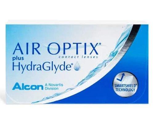 Air Optix Contact Lenses, 3 Pcs, Monthly, Transparent