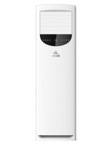 جهاز تكييف الهواء بارتكاز أرضي من إيفولي، تبريد 5 طن/ تدفئة 57500BTU، أبيض