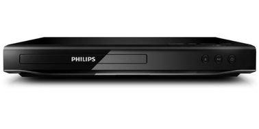 مشغل دي في دي فيليبس، دقة 1080p، منفذ USB، أسود