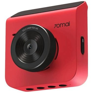 كاميرا سيارة شاومي 70Mai، دقة 1440p، لون أحمر