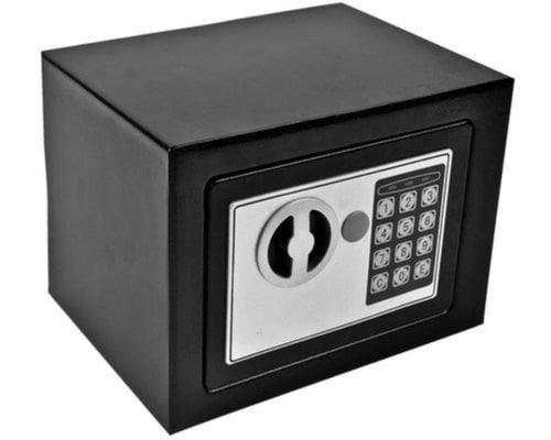 خزانة إلكترونية الكترونيكس، قفل رقمي، أسود