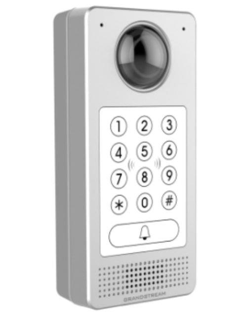 انتركوم جراندستريم، مع كاميرا مراقبة IP واتصال داخلي IP، قارئ شريحة RFID مدمج