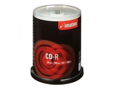 أقراص سي دي فارغة من إيميشن، 100 قرص، 700 ميجابايت، نوع CD-R