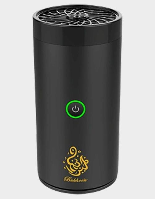 مبخرة للسيارة من جينريك، قابلة للشحن عبر USB-C، أسود