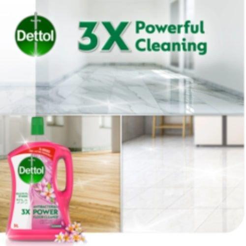 منظف ومعطر الأرضيات ديتول، برائحة الياسمين، 3 لتر