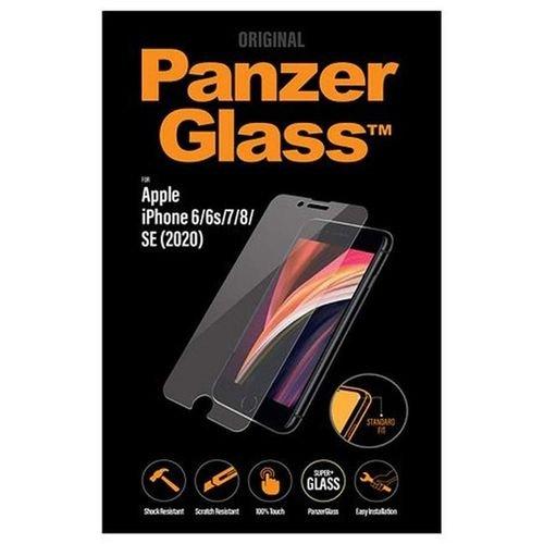 لصاقة حماية ايفون اس إي 2020 من PanzerGlass، قياس 4.7 بوصة، شفافة