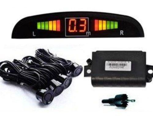 Jeahau car parking sensor with LED screen, 4 sensors