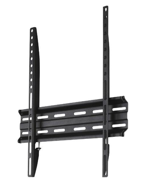 حامل جداري للتلفزيون هاما، 165 سم 65 بوصة، أسود