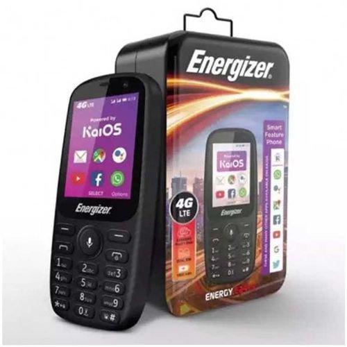 هاتف إنرجايزر E241s، بشريحتين شاشة 2.4 بوصة، ذاكرة 512MB، أسود