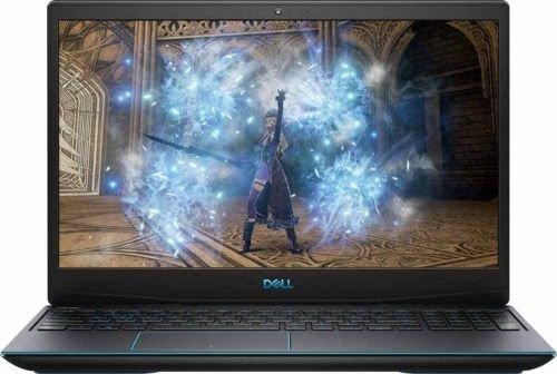 لابتوب ألعاب ديل G3 15، معالج Core i7 جيل عاشر، رام 8GB، تخزين 512GB، بطاقة GTX1650TI، رمادي
