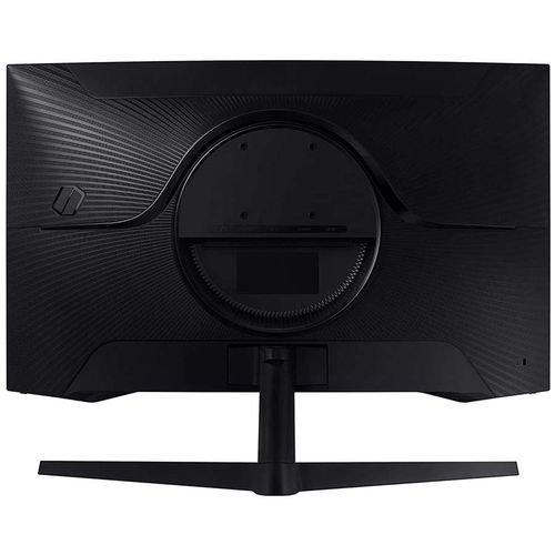 شاشة سامسونج منحنية 27 بوصة، نوع VA، دقة QHD، معدل تحديث 144 هرتز، لون أسود