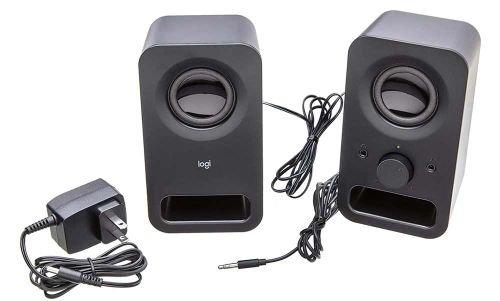 مكبر صوت لوجيتك Z150، قطعتان، 3 واط، لون أسود