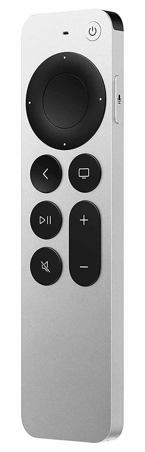 ستريمر آبل TV الجيل السادس، دقة 4K، ذاكرة 32 جيجابايت، لون أسود