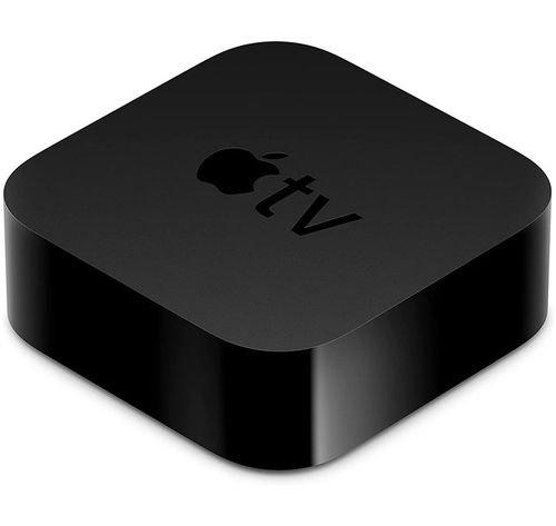ستريمر آبل TV الجيل السادس، دقة 4K، ذاكرة 64 جيجابايت، لون أسود