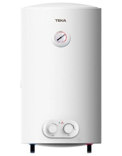 سخان مياه كهربائي من تيكا، 80 لتر، أبيض