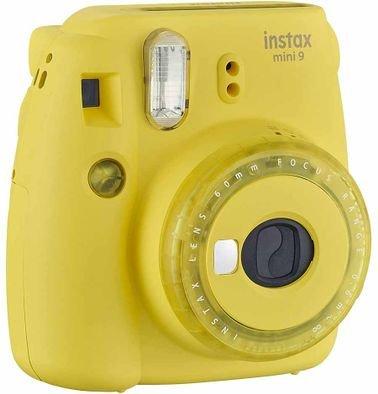 كاميرا فورية فيوجي فيلم ميني 9، لون أصفر