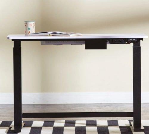 مكتب ذكي من روفر، لون أبيض/أسود