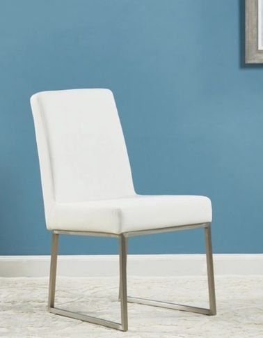 Frost dining chair, white color