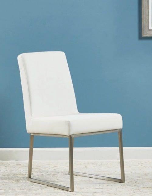 كرسي سفرة من فروست، لون أبيض