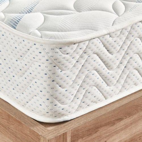 مرتبة إسفنج كينج بنوابض حلزونية من بريم ريلاكس، 180x200 سم، أبيض