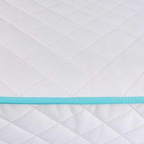 مرتبة فردية للأطفال من سبرانج، 200x90 سم، نوابض مفتوحة، لون أبيض